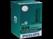 Лампа ксеноновая Philips D2S 85122XV2C1 X-treme Vision gen2 +150% 85V 35W
