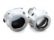 Биксеноновые линзы G5 Morimoto Mini с ангельскими глазками