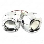 """Биксеноновые линзы Mini G5 1.8"""" с масками"""